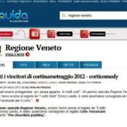 """Liquida.it """"Cortinametraggio 2012: tutti i vincitori"""""""