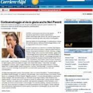 """Il Corriere delle Alpi """"Cortinametraggio al via in giuria anche Neri Parenti"""""""