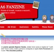 "A6 fanzine ""Tutti i vincitori di Cortinametraggio 2012"""