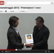 YouTube: Cortinametraggio 2012, Carlo Fracanzani riceve il Premio Speciale Regione Veneto da Enrico Lando